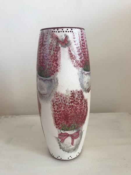 Cadou special vază handmade